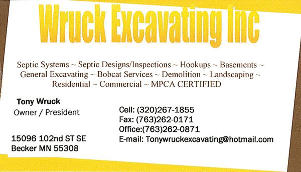 Wruck-Excavating
